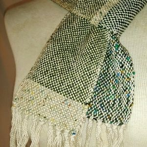 #hundredsofscarves: HAND-Woven Long Scarf